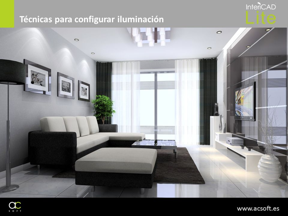 www.acsoft.es Técnicas para configurar iluminación