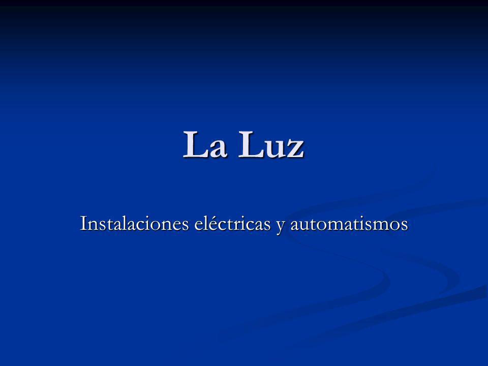 La Luz Instalaciones eléctricas y automatismos