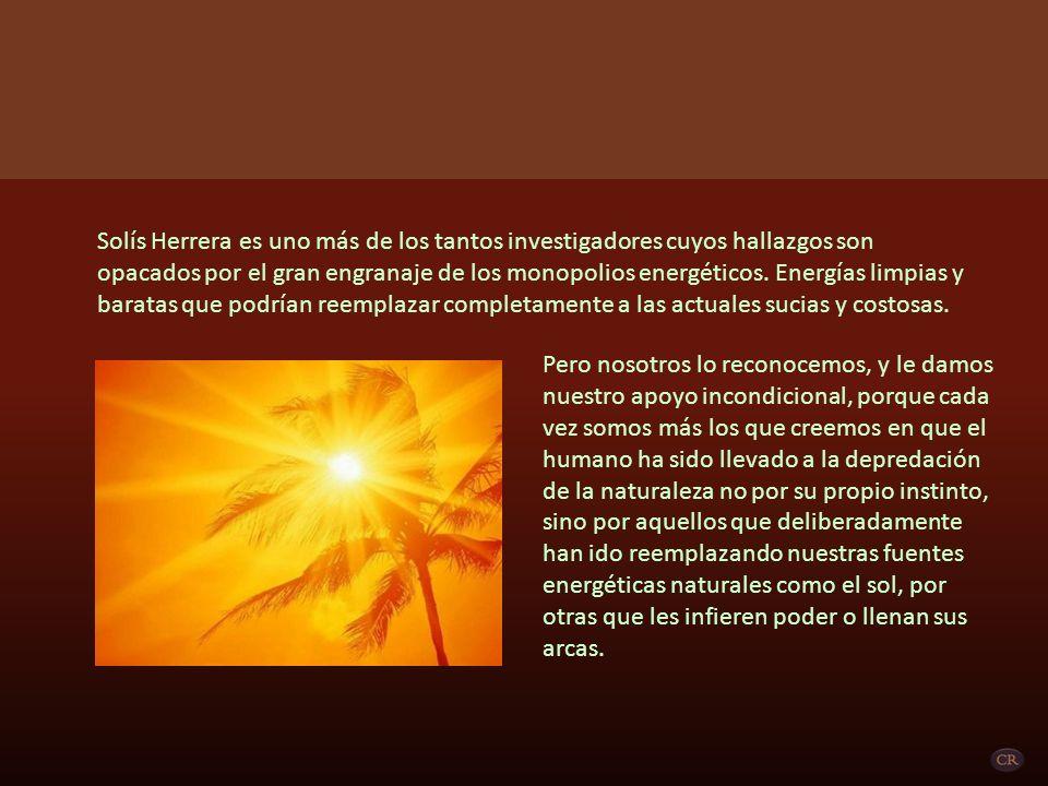 REPORTAJE AL DR.ARTURO SOLÍS HERRERA Por: Bianca Atwell Fuente: La Jornada El Dr.