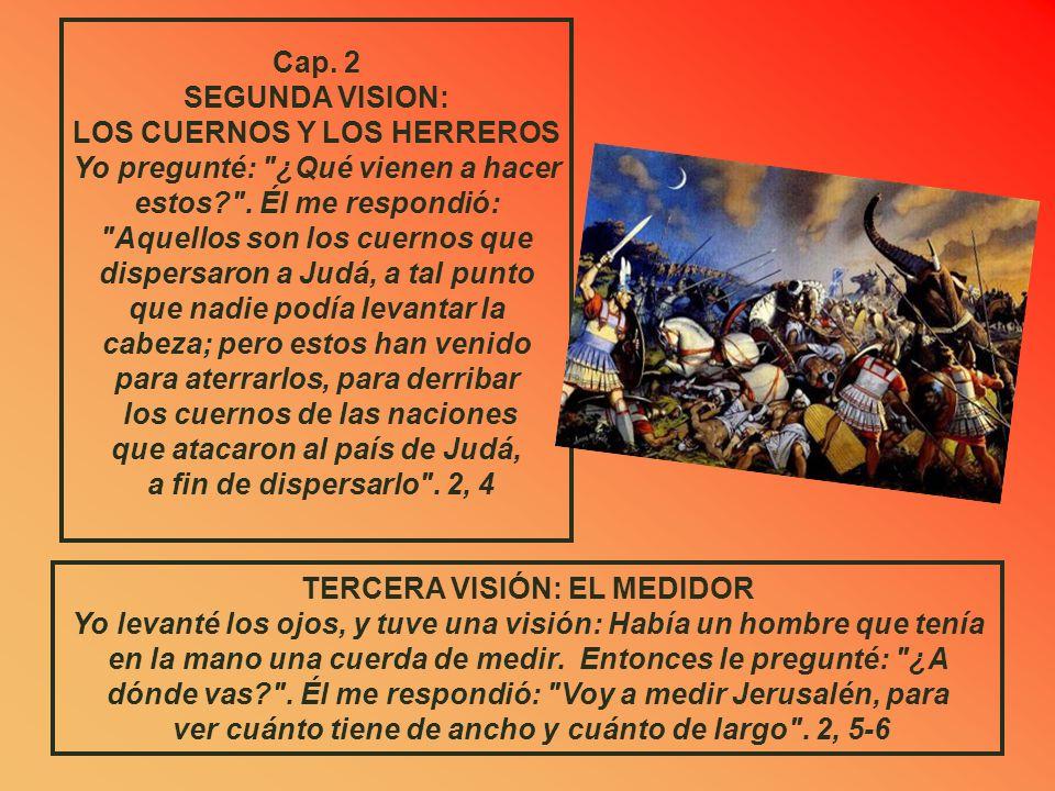 Por eso, así habla el Señor: Yo he vuelto a Jerusalén con piedad; allí será reconstruida mi Casa, oráculo del Señor de los ejércitos, y la cuerda de m