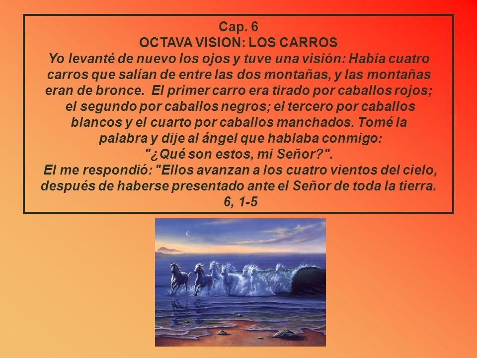 Cap. 5 SEXTA VISION: EL ROLLO QUE VUELA El ángel me preguntó: