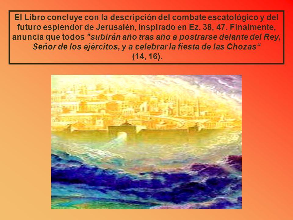 Cap. 13 LA PURIFICACION DEL PAÍS Aquel día, habrá una fuente abierta para la casa de David y para los habitantes de Jerusalén, a fin de lavar el pecad