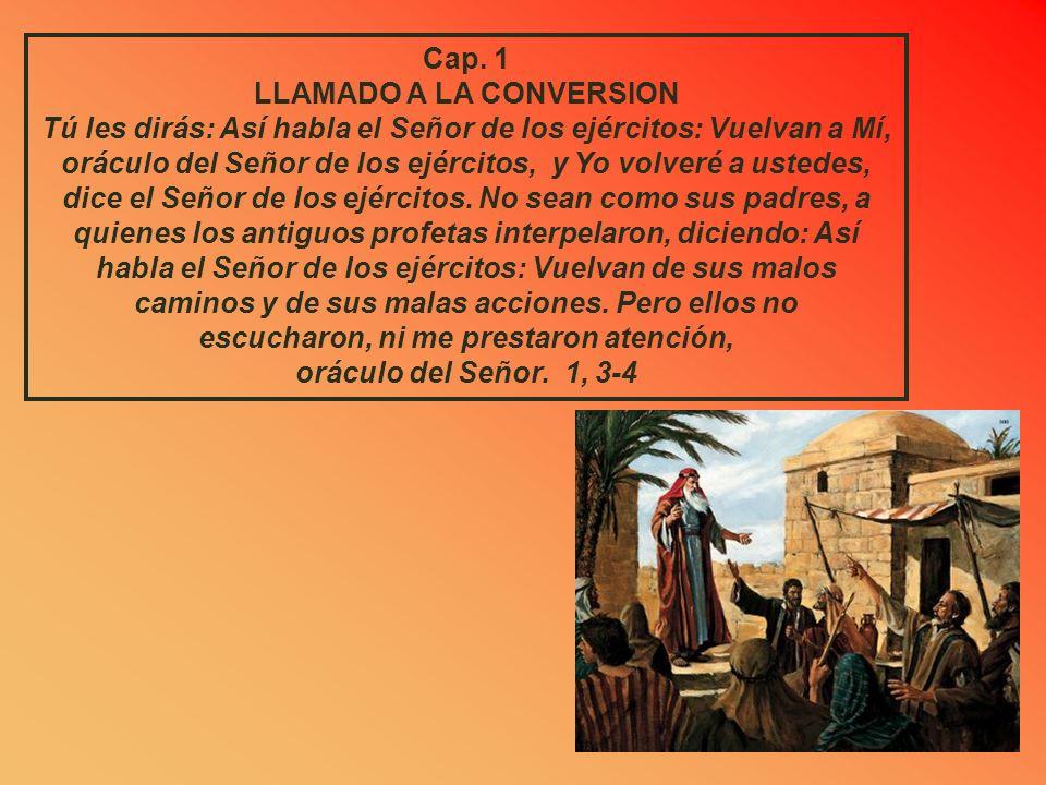 Cap.4 QUINTA VISION: EL CANDELABRO Y LOS OLIVOS Él me preguntó: ¿Qué ves? .