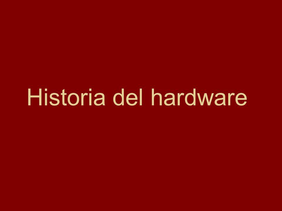 Informática - Hardware y su historia Aunque la computadora personal fue creada en 1981, sus inicios se remontan a varias décadas atrás y sus antecedentes a hace más de cuatro mil años.