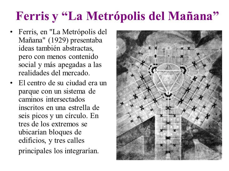 Ferris y La Metrópolis del Mañana Ferris, en