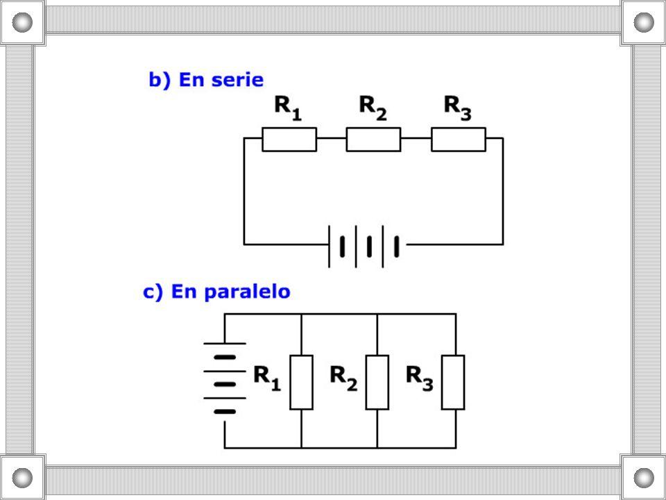 La energía se tiene que conservar en un circuito cerrado ¿Cómo se escribe la conservación para los circuitos en serie y en paralelo.