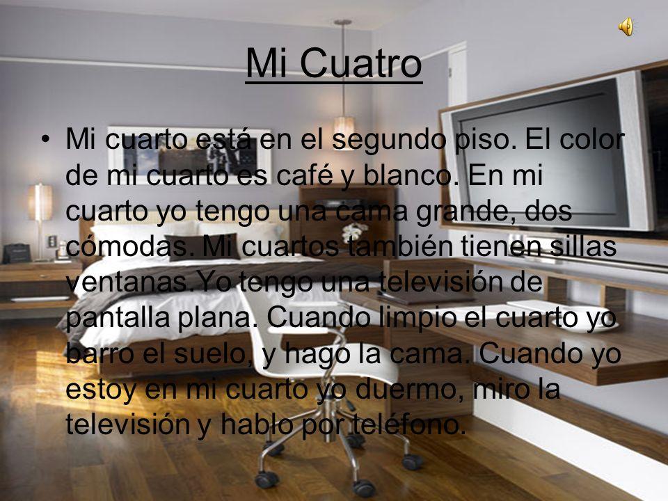 El cuarto de mi mejor amiga El cuarto está en el segundo piso y es muy bonita.