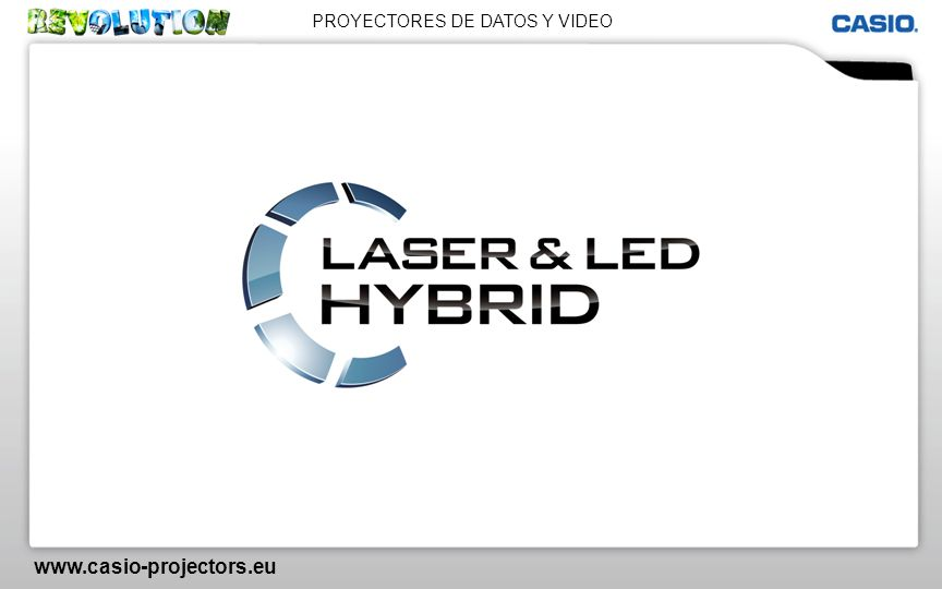 PROYECTORES DE DATOS Y VIDEO www.casio-projectors.eu