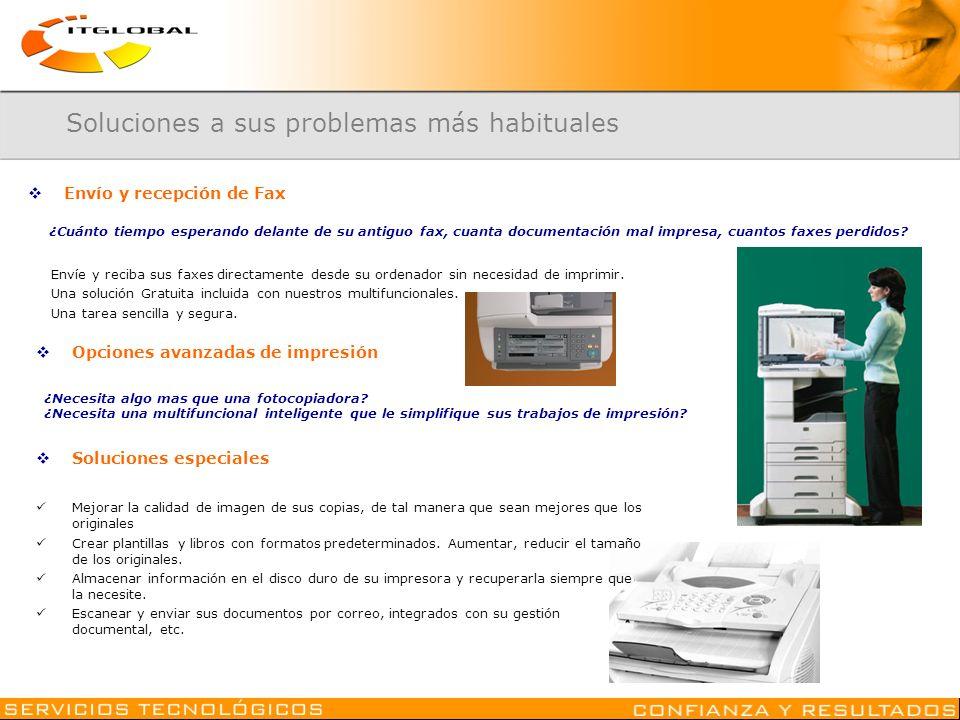Envíe y reciba sus faxes directamente desde su ordenador sin necesidad de imprimir. Una solución Gratuita incluida con nuestros multifuncionales. Una