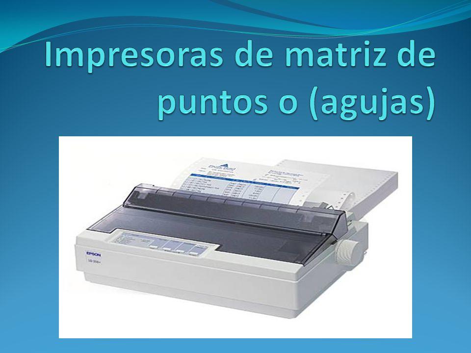 La impresión de inyección de tinta es emitida por boquillas que se encuentran en el cabezal de impresión.