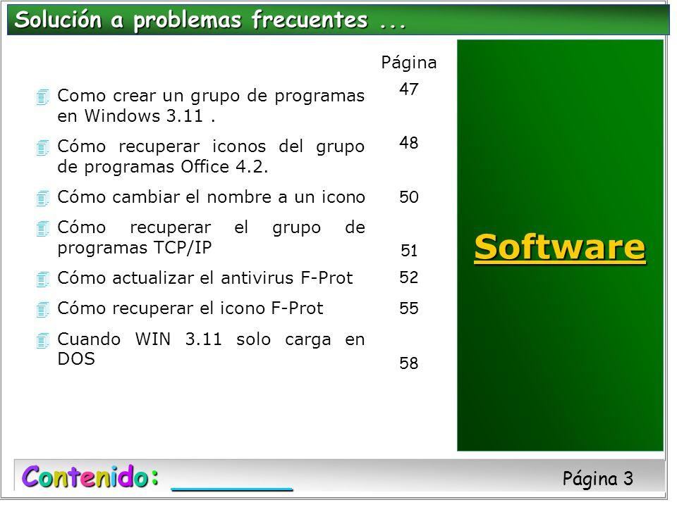 4Como crear un grupo de programas en Windows 3.11. 4Cómo recuperar iconos del grupo de programas Office 4.2. 4Cómo cambiar el nombre a un icono 4Cómo