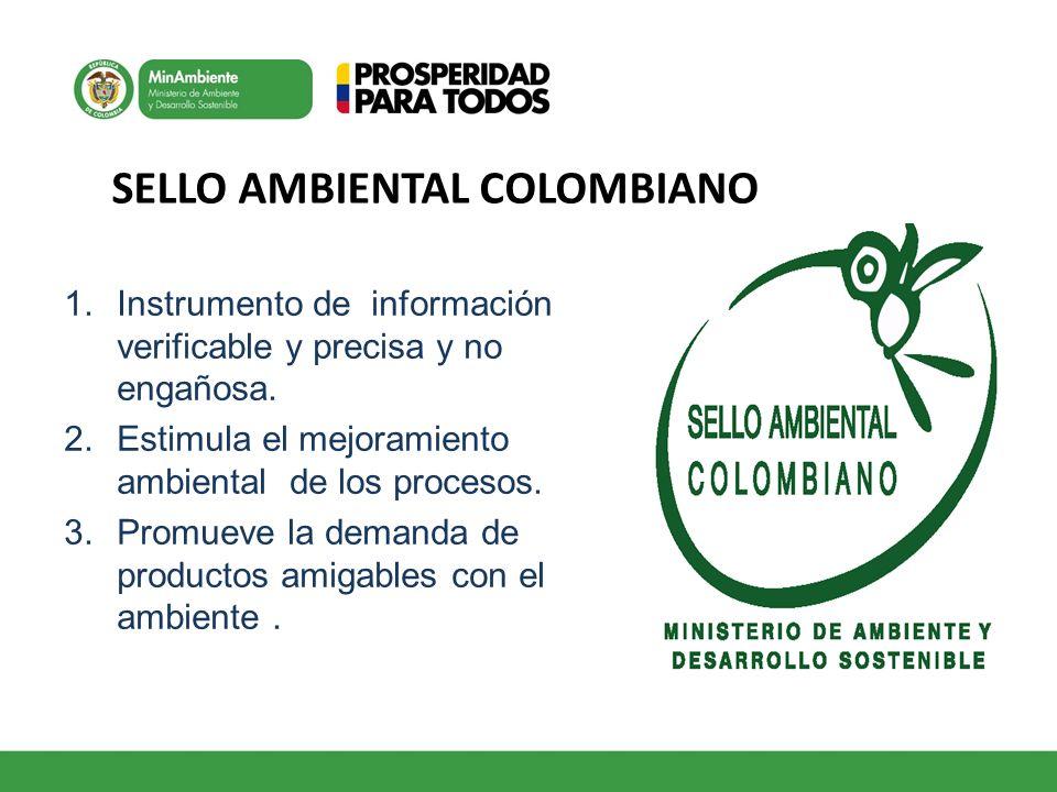 1.Instrumento de información verificable y precisa y no engañosa. 2.Estimula el mejoramiento ambiental de los procesos. 3.Promueve la demanda de produ