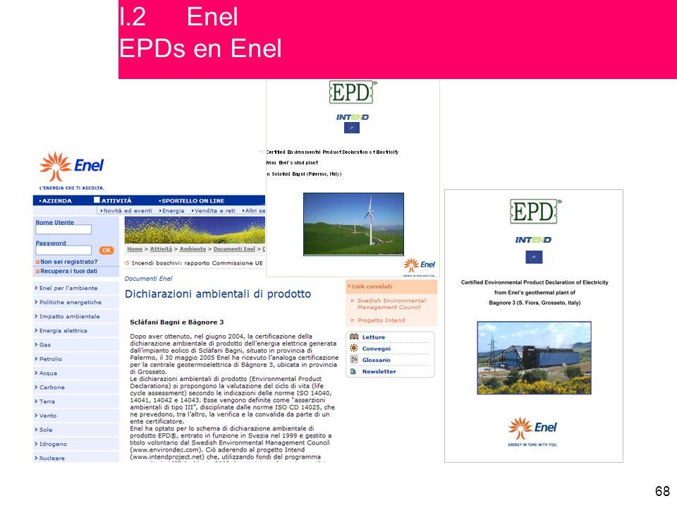 68 I.2Enel EPDs en Enel