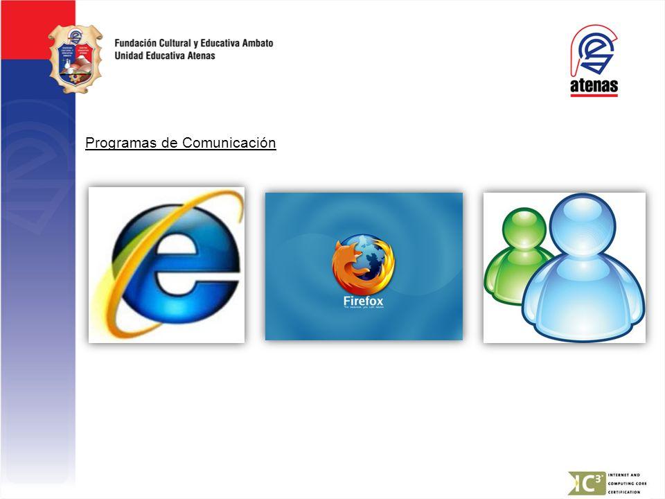 Programas de Comunicación
