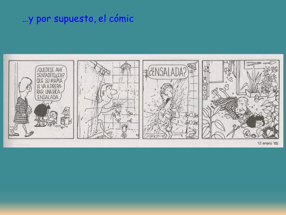 …y por supuesto, el cómic
