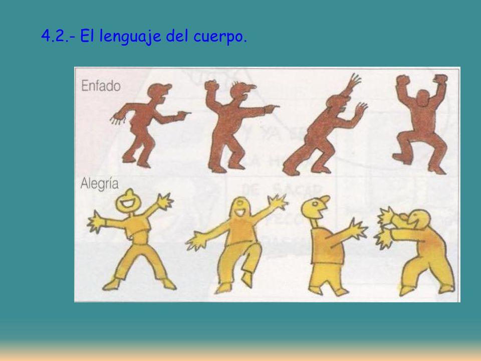 4.2.- El lenguaje del cuerpo.