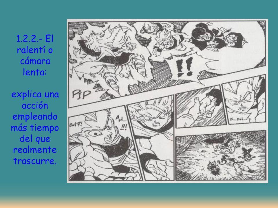 1.2.3.- El flash-back: O salto al pasado. … …