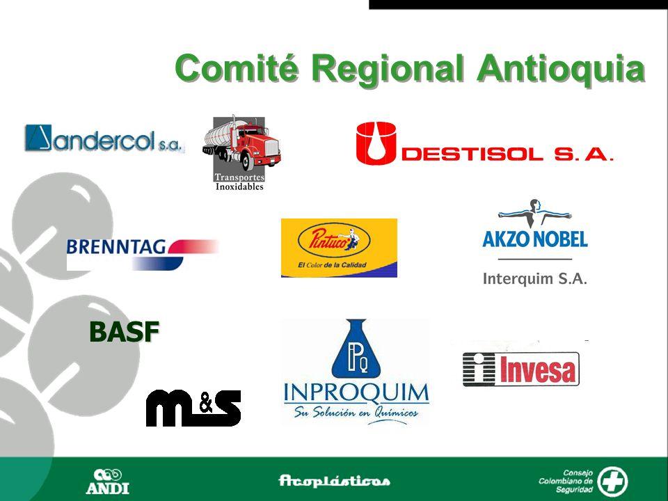 Andercol S.A.BASF Química Brenntag Compañía Global de Pinturas (Pintuco) Destisol S.A.
