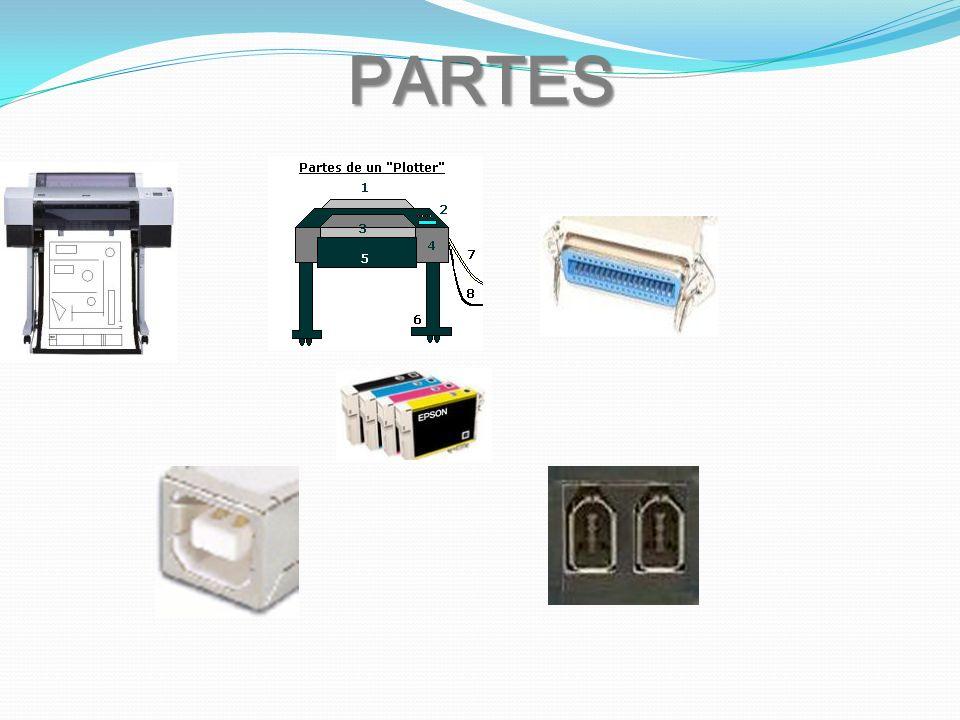 CARACTERISTICAS El Plotter tienen un alto grado de calidad de impresión tanto en negro como en color, También con el auge de los productos compatibles, es posible utilizar cartuchos de marcas menos reconocidas, pero con calidad semejante a la de los fabricantes.