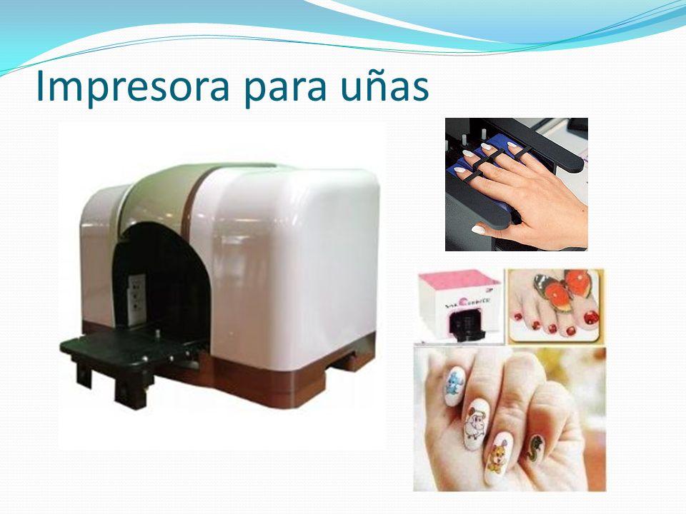 Impresora para uñas
