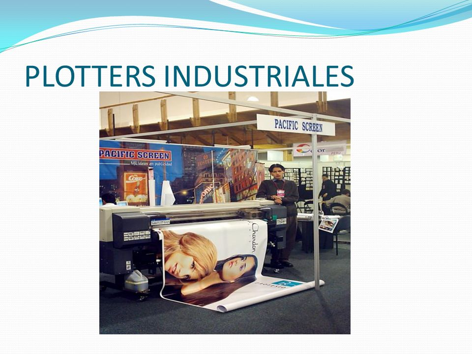 PLOTTERS INDUSTRIALES