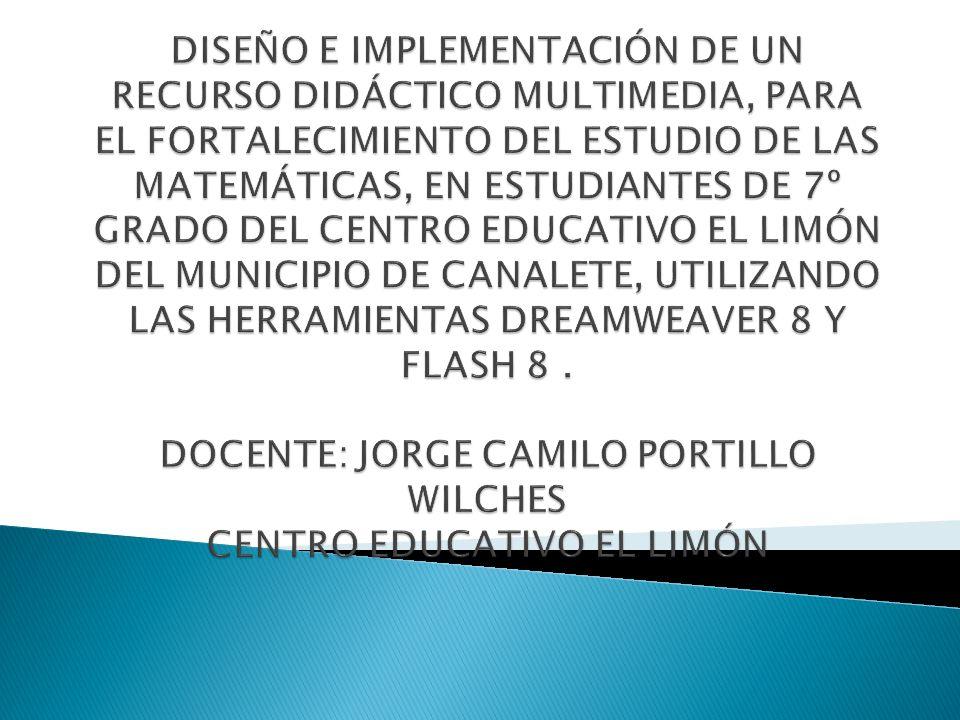 El Centro Educativo El Limón está ubicado en un corregimiento del municipio de Canalete denominado El Limón, el cual dista 14 kilómetros de la cabecera municipal.