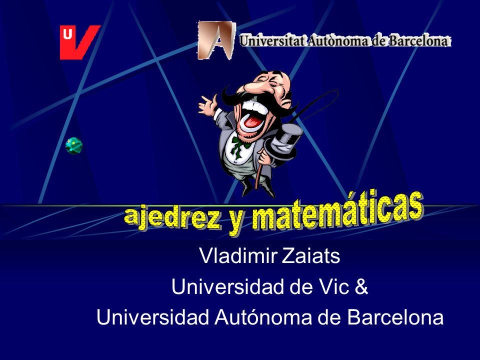 Vladimir Zaiats Universidad de Vic & Universidad Autónoma de Barcelona