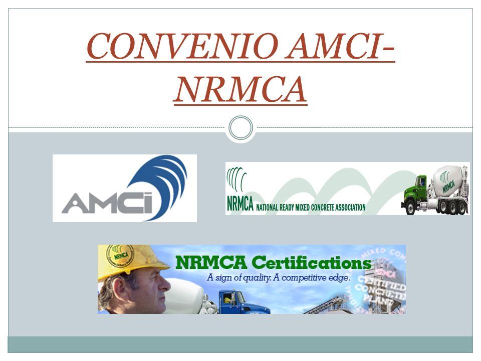 CONVENIO AMCI- NRMCA