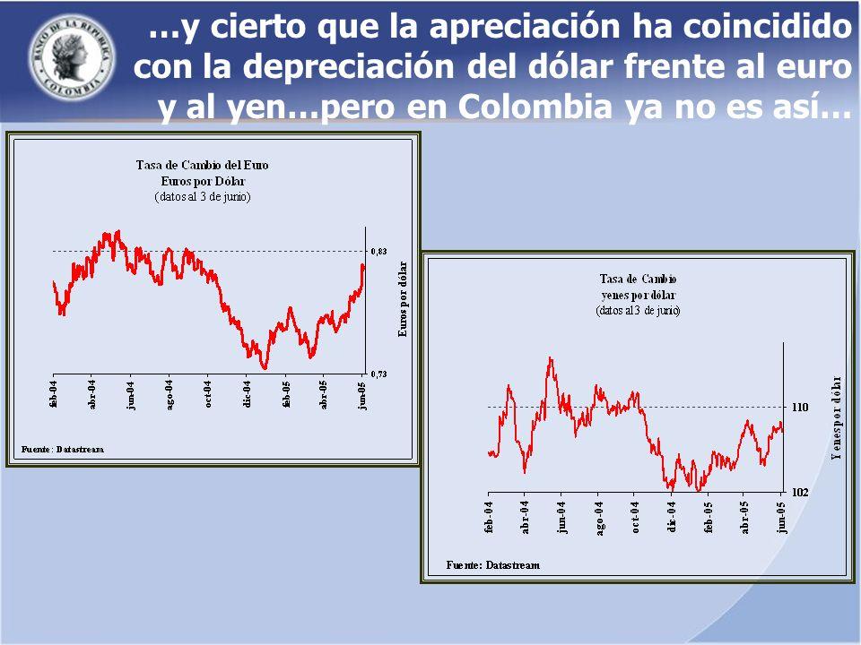… y tampoco es posible debilitar económicamente el terrorismo, que se financia de los cultivos ilícitos… En Colombia cada vez que se debilita la agricultura lícita se fortalece la ilícita y los grupos alzados en armas que se financian de ésta actividad.