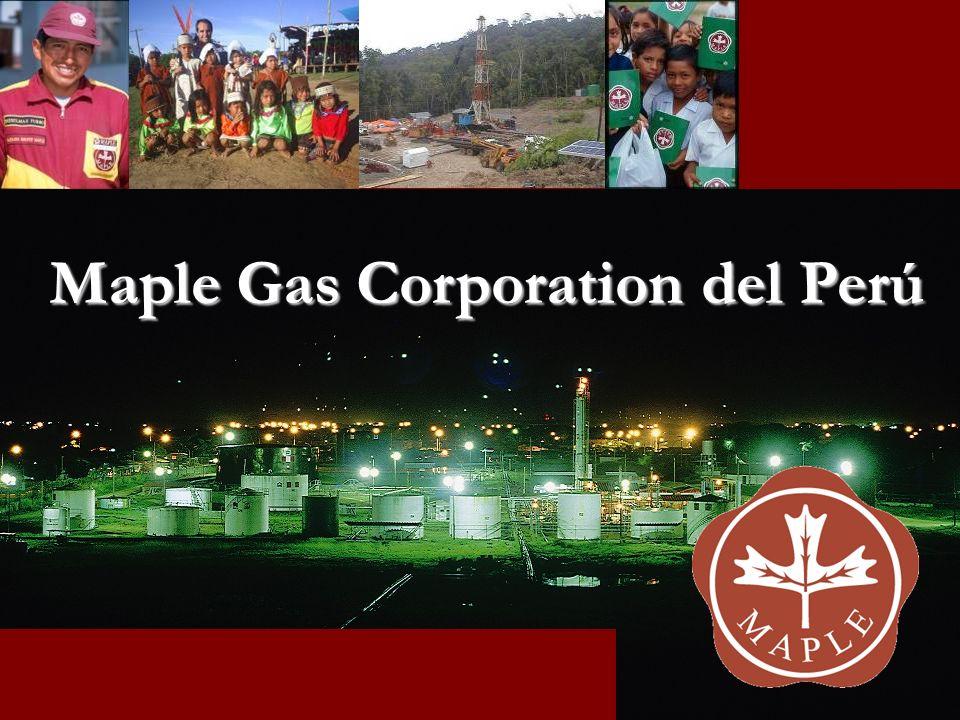 Medio ambiente – Reconocimientos Maple recibió el reconocimiento de la SNMPE por sus actividades de remediación de suelos en las localidades de Maquía y Aguas Calientes.