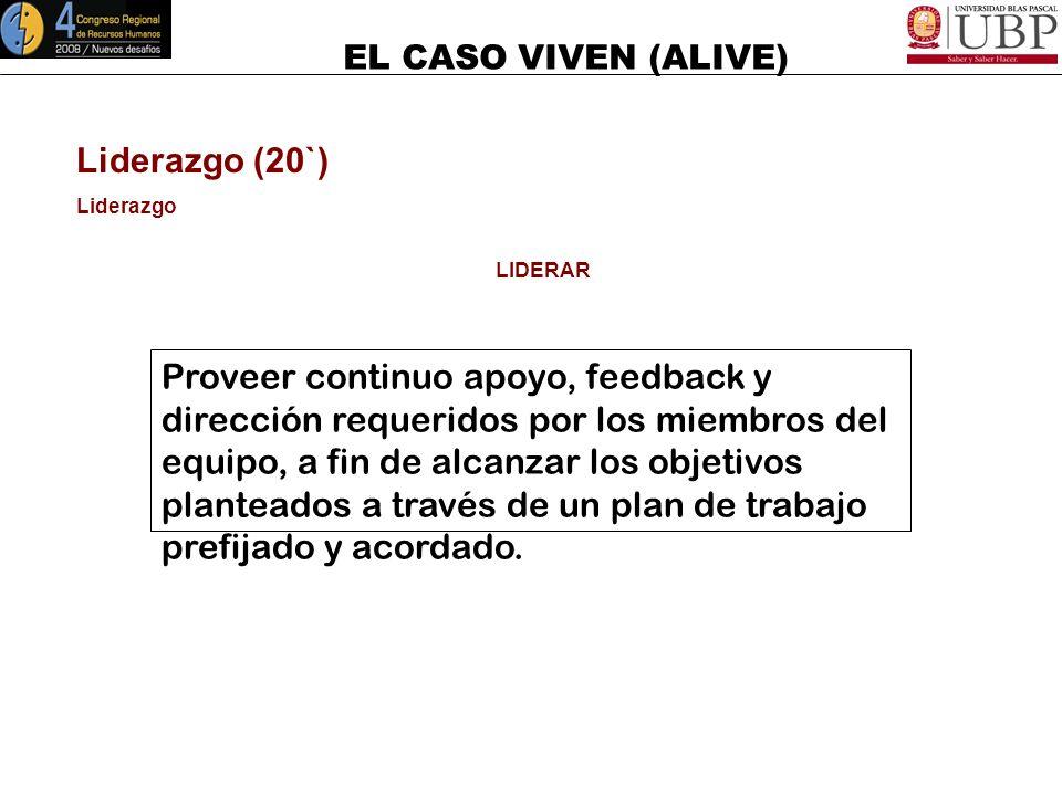 EL CASO VIVEN (ALIVE) Manejo de Crisis Dimensiones de Respuesta a la Crisis Estrategias y Acciones de Contención (6) 100% de Garantía de Éxito! + Suer