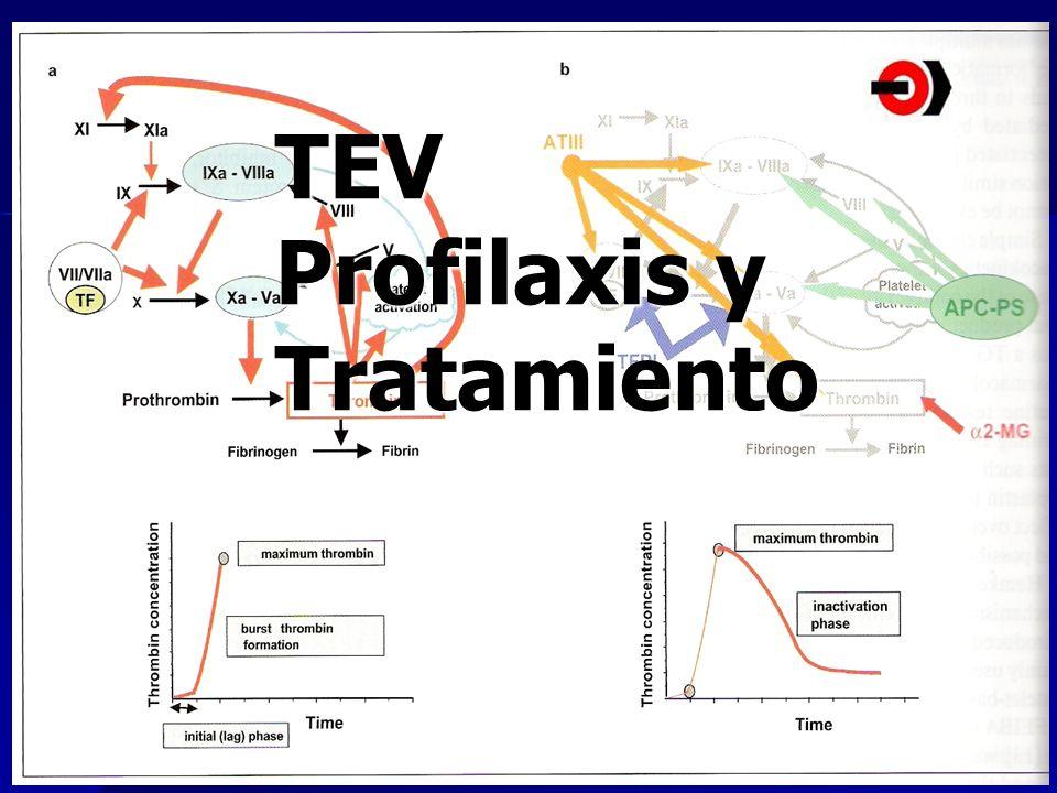 TEV Profilaxis y Tratamiento
