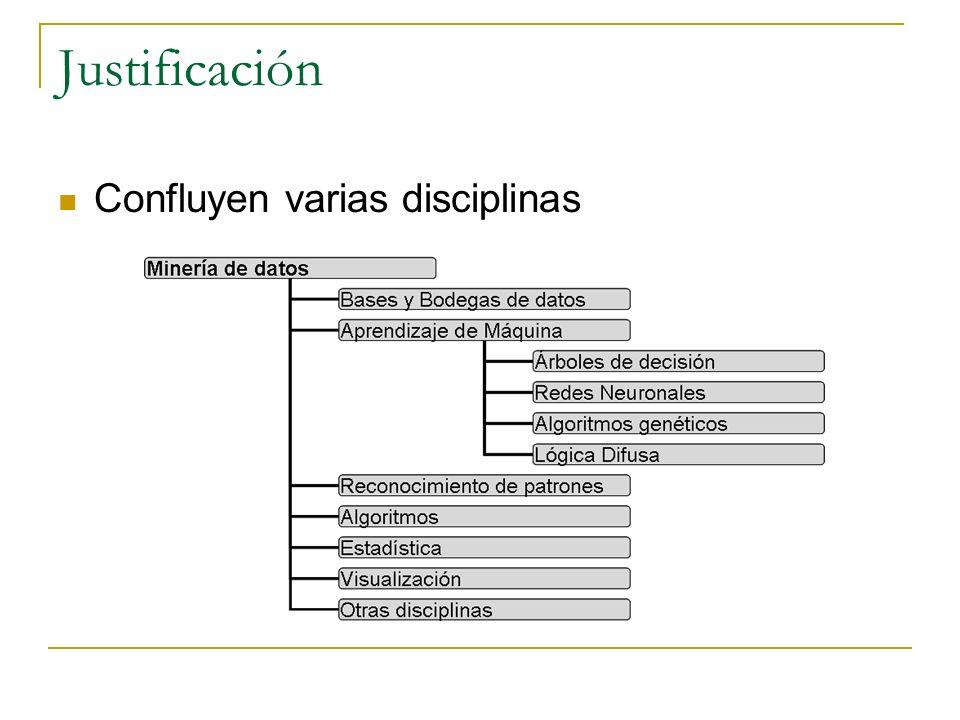 Aplicaciones en GTI Búsqueda en Internet BIM (2008): Ontologías, Resultado de los motores de búsqueda (Google, Yahoo, MSN), Perfil del usuario, Minería de textos DSS para viveros automatizados (2008) Bodegas de datos y OLAP Clasificación (C4.5, C5.0, CART) CASE integrada basada en CRISP-DM (2009)