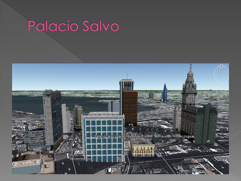 El Palacio Salvo es un edificio de la ciudad de Montevideo.
