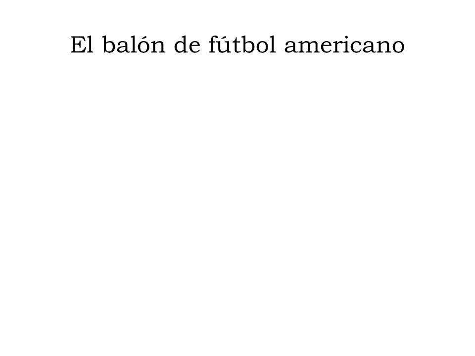 El balón de fútbol americano