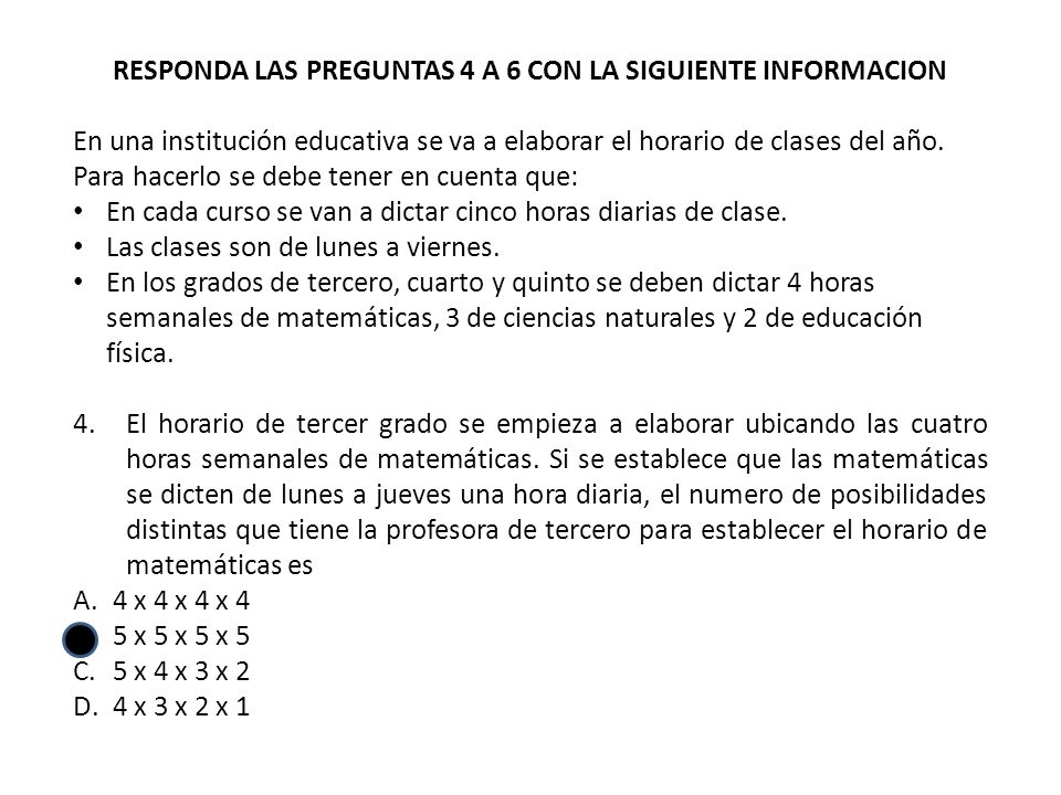 Para escoger al primer integrante se tiene 6 alternativas diferentes, para el segundo 5 y para el tercer miembro tenemos 4 formas distintas de seleccionarlo, por lo tanto para conformar el consejo estudiantil se tienen (6×5×4) ÷ 6 = 20 formas ABC=ACB=BAC=BCA=CAB=CBA