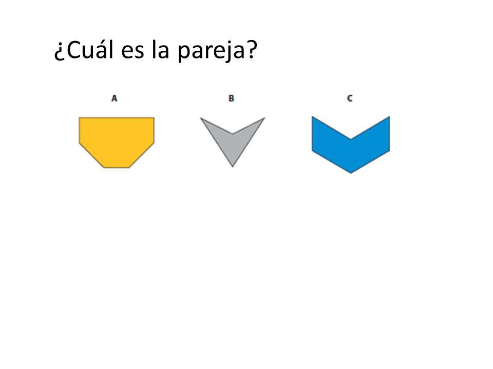 Otro ejemplo… Propiedad de rectas paralelas: la figura está hecha de varios pares de rectas paralelas.
