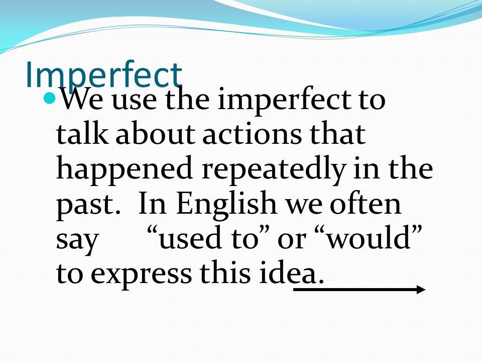 Háganlo ahora-el 14 de enero Escriban las formas en el imperfecto: Yo-hablar Ellos-vivir Tú-bailar Nosotros-comer Nosotros-bailar Ella-estudiar hablaba vivían bailabas comíamos bailábamos estudiaba