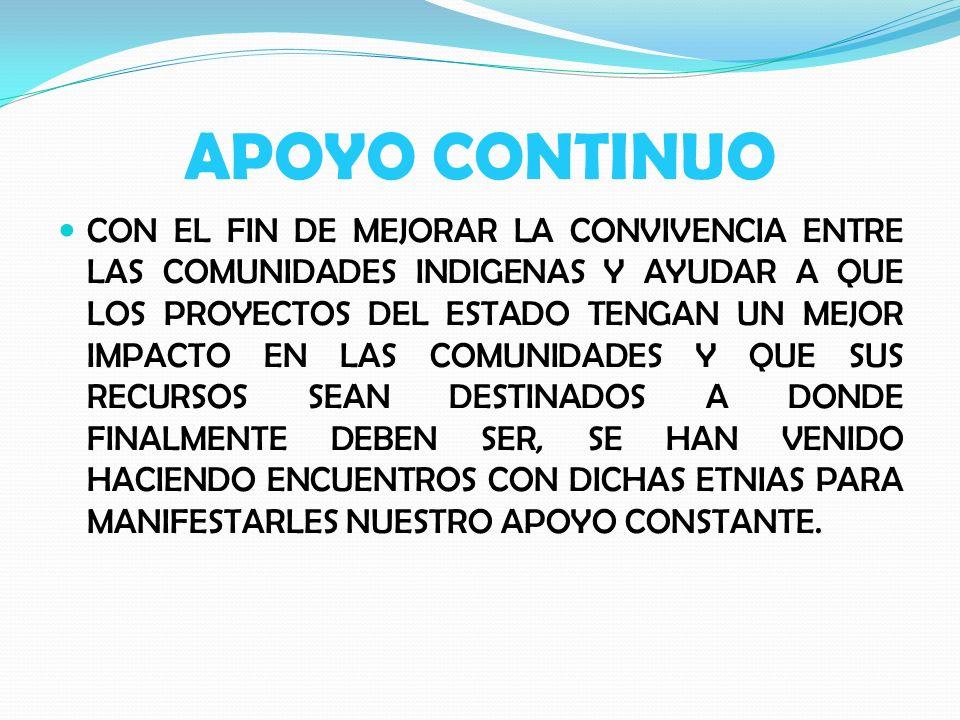 REUNION CON LOS LIDERES DE LA ONIC Y LA COMUNIDAD EMBERA CHAMI