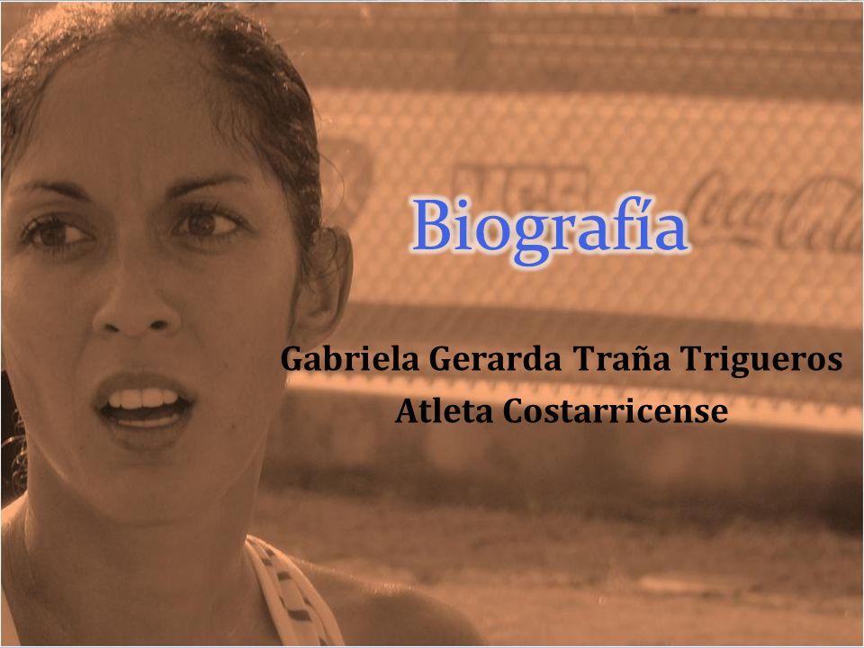 Gabriela Gerarda Traña Trigueros Atleta Costarricense