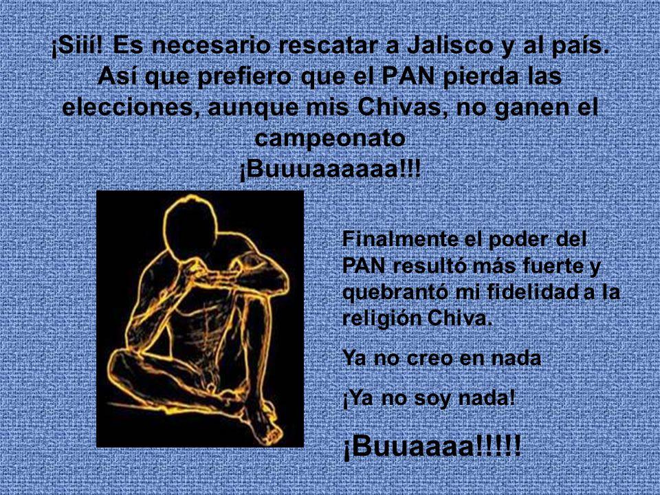 ¡Siií.Es necesario rescatar a Jalisco y al país.