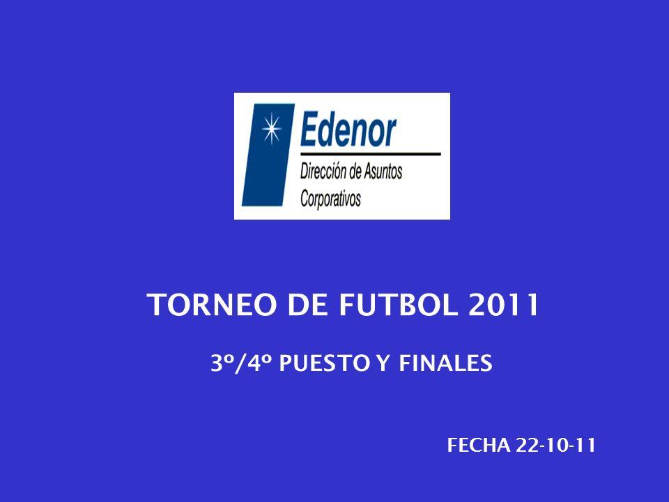 TORNEO DE FUTBOL 2011 FECHA 22-10-11 3º/4º PUESTO Y FINALES