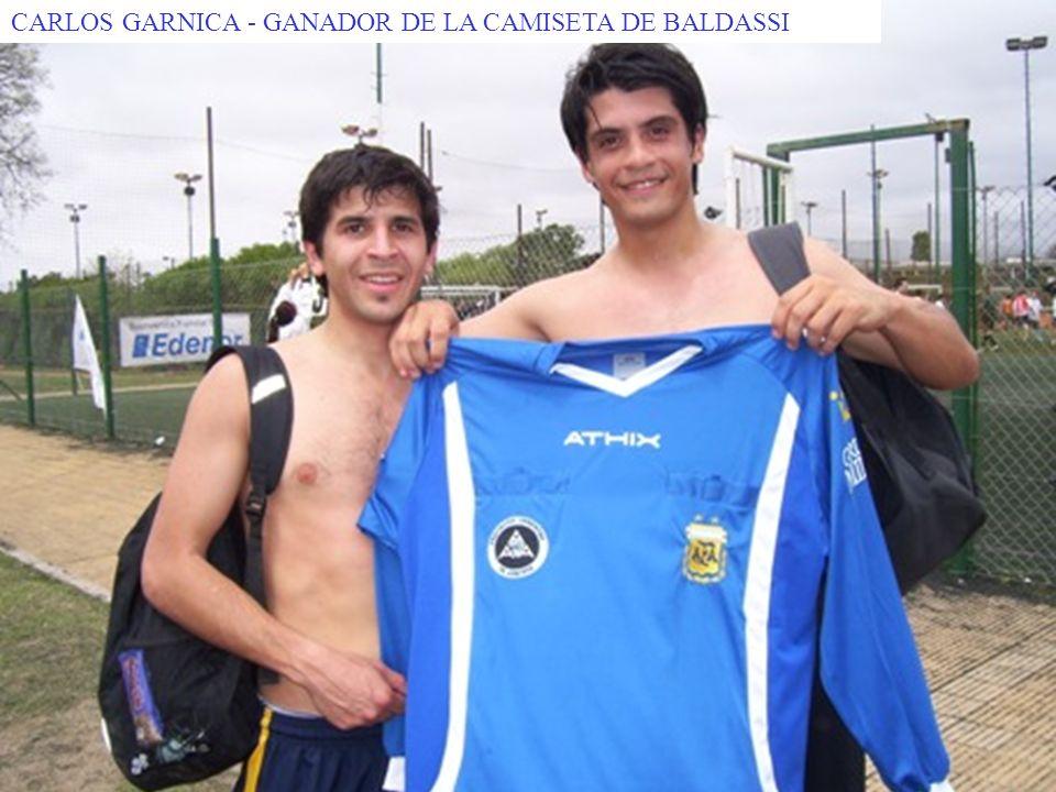 CARLOS GARNICA - GANADOR DE LA CAMISETA DE BALDASSI