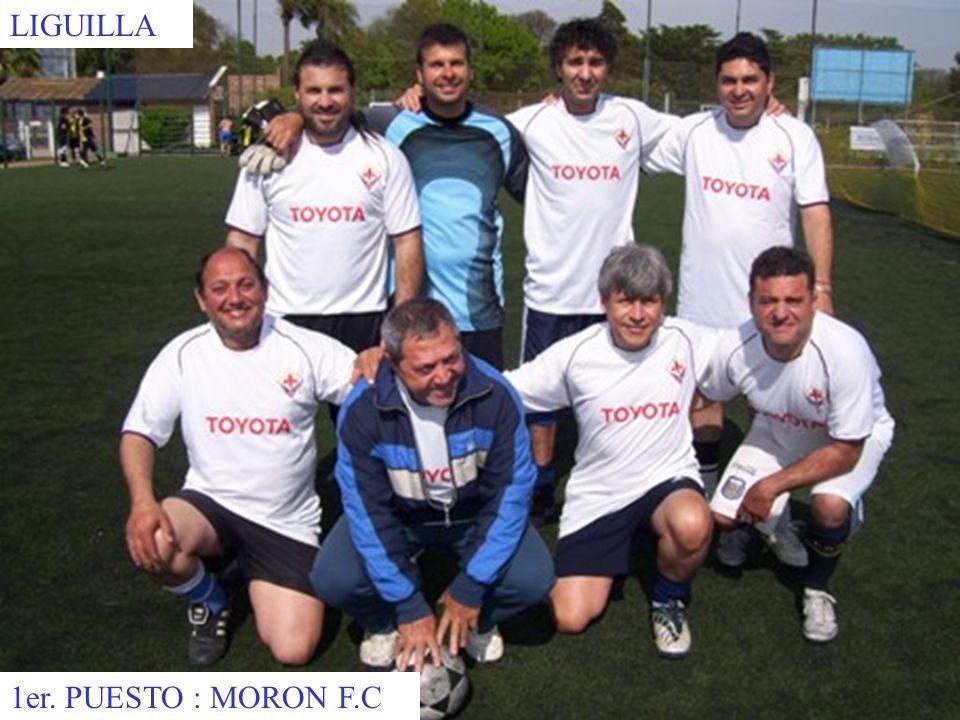 LIGUILLA 1er. PUESTO : MORON F.C