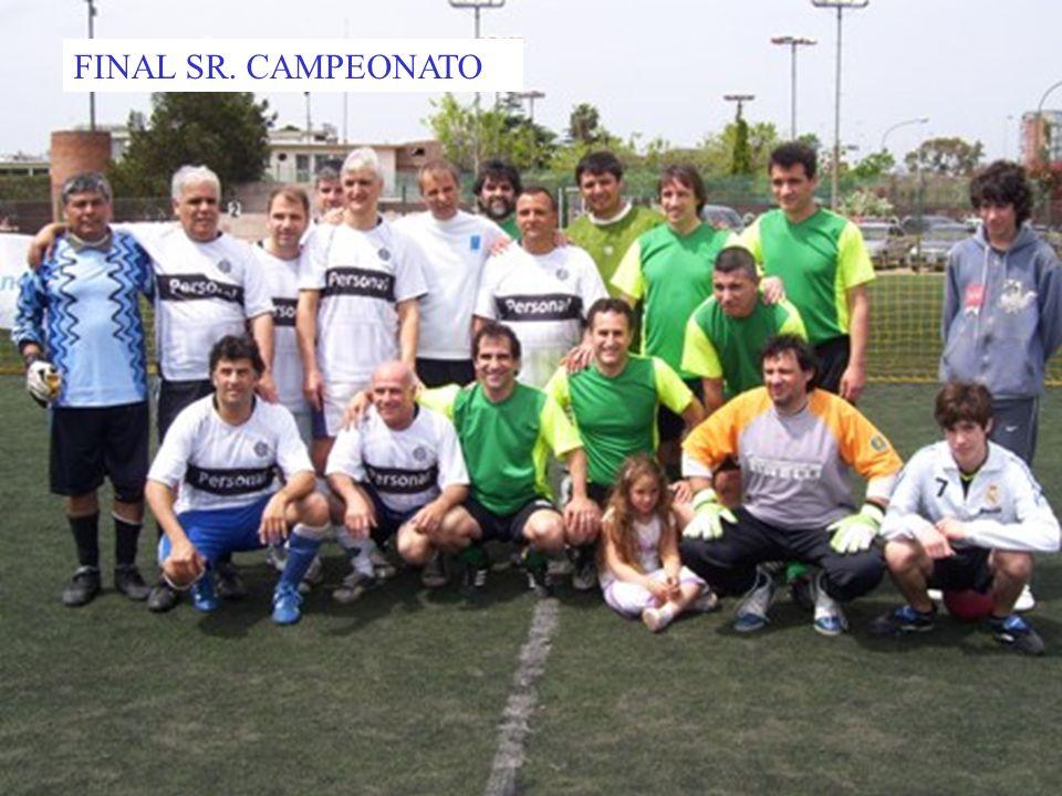 FINAL SR. CAMPEONATO