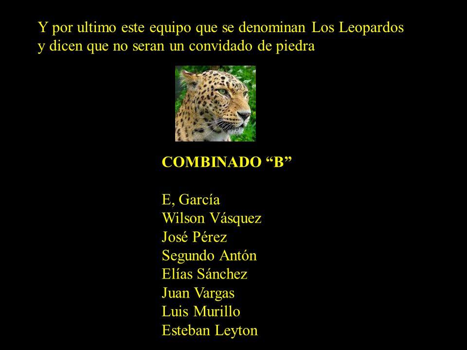 Y también este otro que dice que no solo competirá sino que ganará y se hacen llamar Los Pumas COMBINADO A Ernesto Mautino Faustino Cauchi Miguel Sali