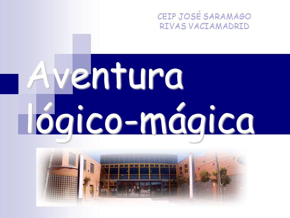 Aventura lógico-mágica CEIP JOSÉ SARAMAGO RIVAS VACIAMADRID