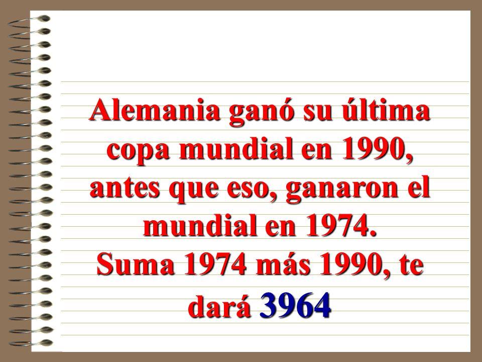 Argentina ganó su última copa mundial en 1986, antes que eso, ganaron el mundial en 1978.