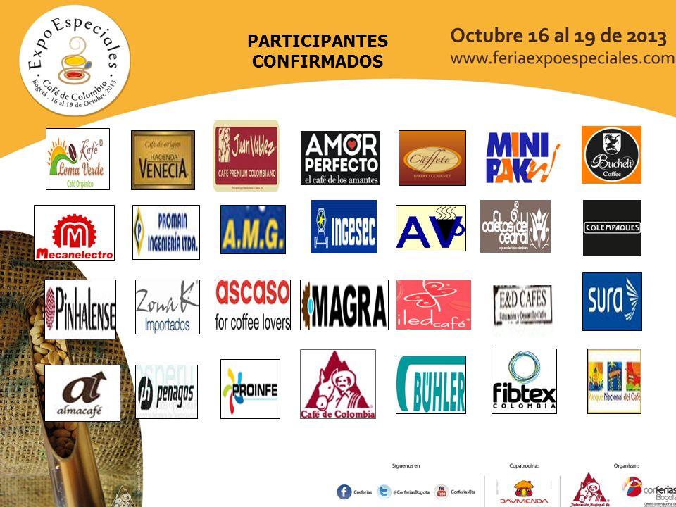 COMITE DE CAFETEROS DEL TOLIMA COMITE DE CAFETEROS DE CALDAS TRITO CAFÉ COMITES DE CAFETEROS CAUCA Y HUILA COMITE DE CAFETEROS DE BOYACA GOBERNACION DEL HUILA HOLANDA PAIS INVITADO