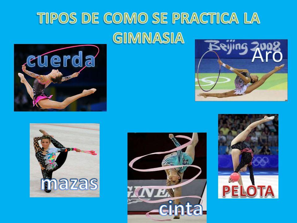 ¿Qué es? La gimnasia rítmica es una disciplina que combina elementos de Ballet,Gimnasia,Danza y el uso de diversos aparatos como la cuerda, el aro, la